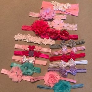 18 pack beautiful infant headbands